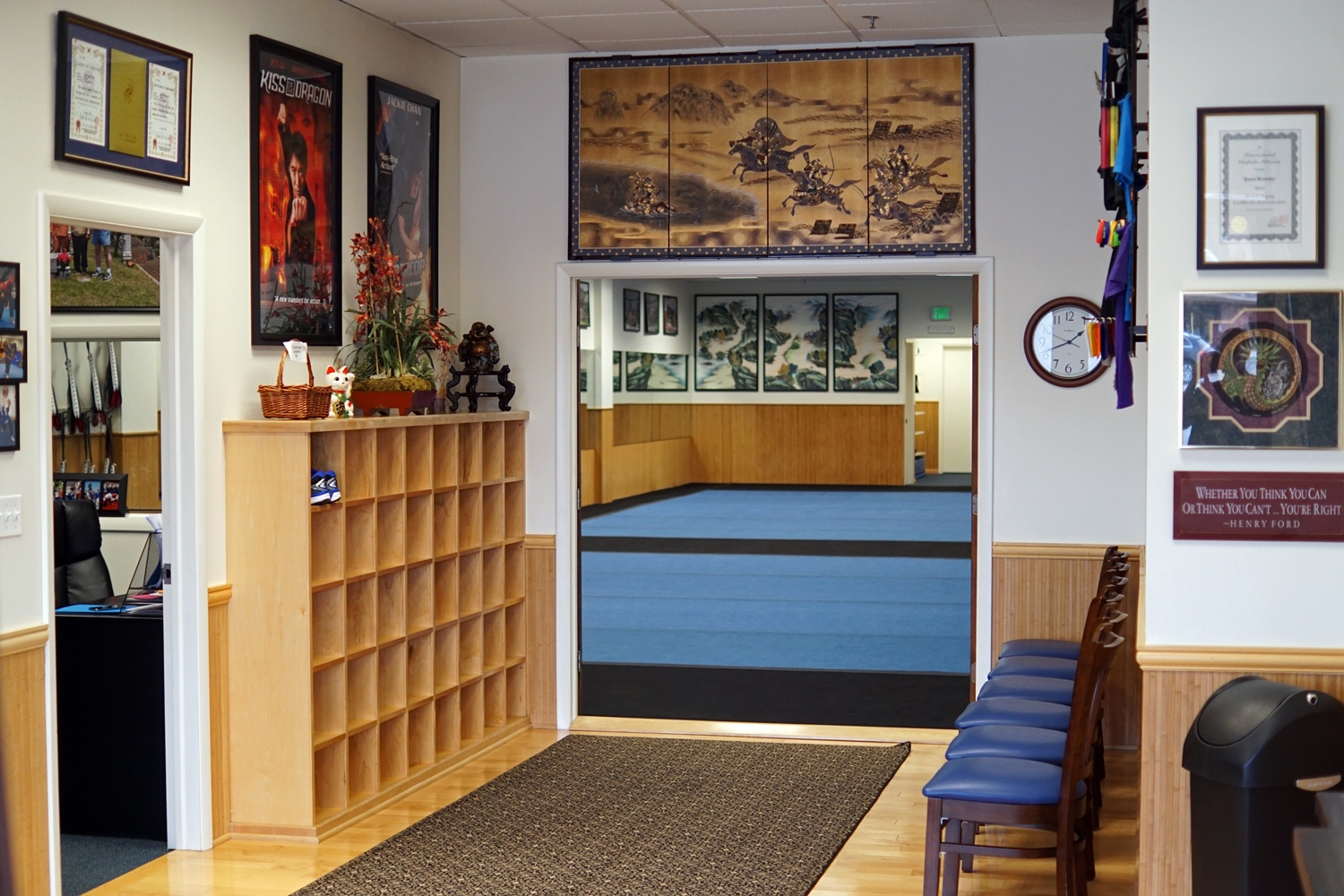 Quest Martial Arts Dojang is Safe, Clean and Inviting