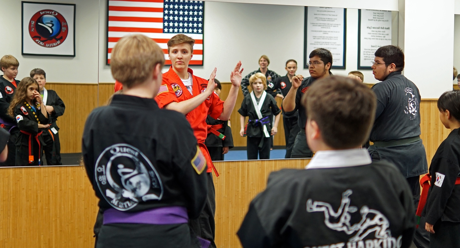 Quest Martial Arts Kids' Programs and Bully Prevention